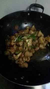 玉盘珍馐的干锅花菜
