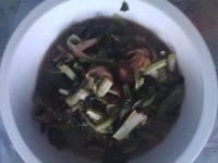 家常菜香菇炒油菜