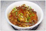 家常菜豆瓣酱烧带鱼