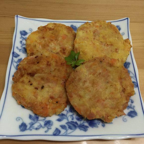珍馐美味的香煎土豆饼