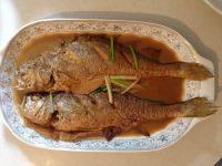 开胃的红烧黄鱼