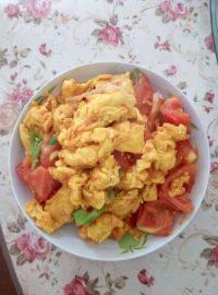 家常菜西红柿炒鸡蛋