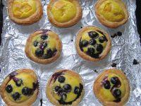自制蓝莓蛋挞