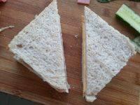 好味的火腿三明治