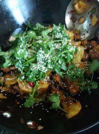 美味的干锅鸡