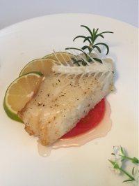美味的香煎银鳕鱼