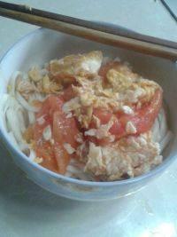 家常营养西红柿鸡蛋打卤面
