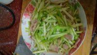 家常菜韭黄炒肉