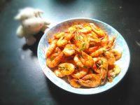 家常菜葱爆虾