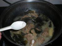 味道香醇的排骨海带汤
