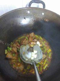 家常菜四季豆炒五花肉