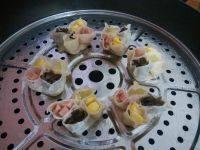 甘脆的四喜蒸饺