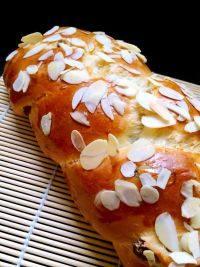 自己做的辫子面包