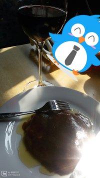 美味的黑椒菲力牛排