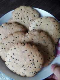 自制黑芝麻饼干