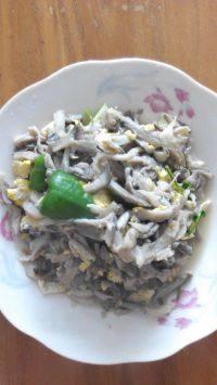 家常菜蘑菇炒鸡蛋