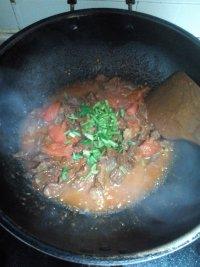 油而不腻的西红柿炖牛腩