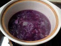 自制紫薯银耳羹