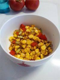 家常菜清炒玉米粒