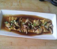 饱满的蚝油豆腐