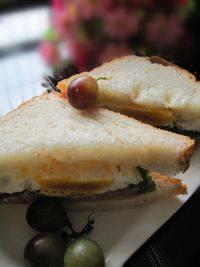 十分诱人的三明治