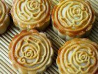 自制金沙奶黄月饼