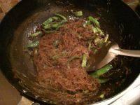 家常菜肉末炒粉丝