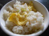 简易的鸡蛋炒米饭