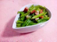 健康美食蒜蓉茼蒿