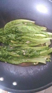 家常菜蒜蓉生菜