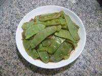 清淡的清炒扁豆