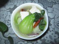 【首发】青菜豆腐汤