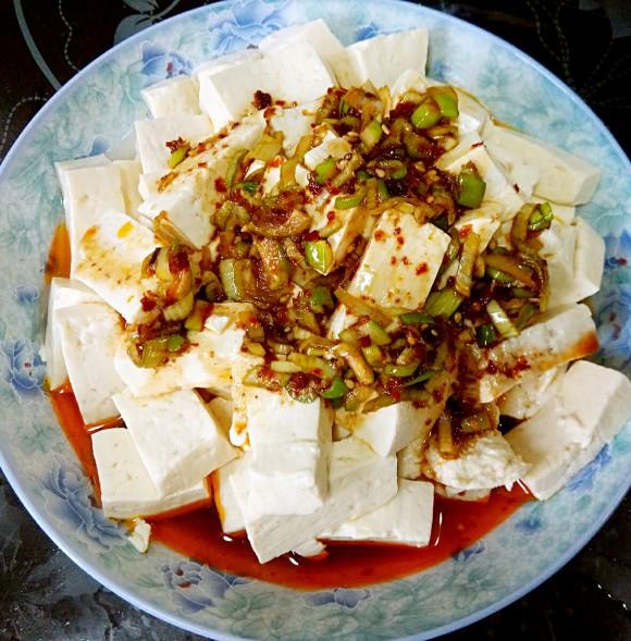 香飘十里的拌豆腐
