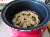 自己做的冰花煎饺