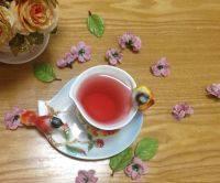 很有食欲的养颜花茶