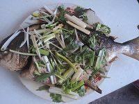 美味的红烧金鲳鱼