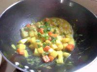 自己做的咖喱土豆