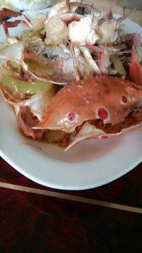 鲜香的姜葱炒蟹