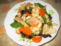 在家做的杏鲍菇炒肉