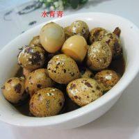 甘脆的卤鹌鹑蛋
