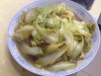 家常菜辣炒白菜