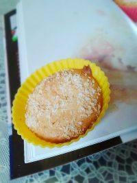 诱人椰丝马芬蛋糕