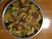 家常菜土豆片回锅肉