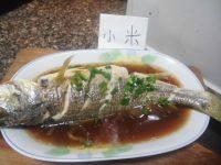 开胃的清蒸小黄鱼