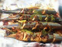 辣烤秋刀鱼