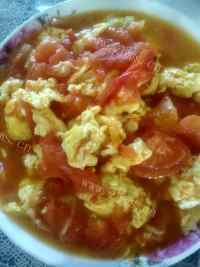 家常菜鸡蛋炒西红柿