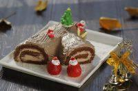 自制树根蛋糕