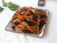 家常菜鱼香杏鲍菇