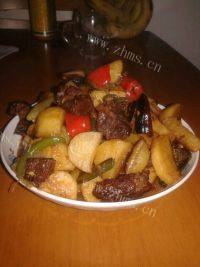 家常菜土豆烧牛肉