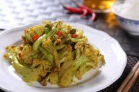 家常菜咖喱菜花